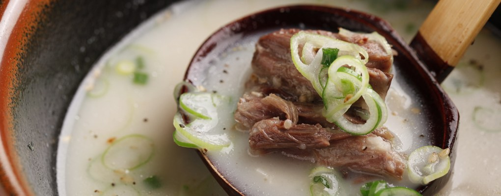 牛骨汤 – Gom-tang Soup (Korean beef stew)